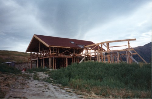 Hayloft construction 5
